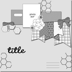 build a calendar march and april: readers entries Scrapbook Layout Sketches, Scrapbook Templates, Card Sketches, Scrapbooking Layouts, Scrapbook Cards, Picture Layouts, Photo Sketch, Photo Banner, Happy Birthday Images