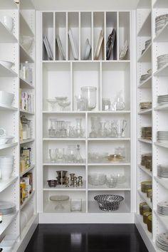 69 ideas kitchen pantry closet built ins walk in Pantry Room, Pantry Closet, Pantry Storage, Kitchen Storage, Pantry Organization, Kitchen Pantry Design, Kitchen Shelves, Kitchen Decor, Kitchen Ideas