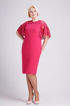 Платье Prestige 3278 розовый купить с доставкой по России   Интернет-магазин BelaRosso-shop.ru