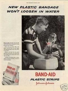 band aids 1950s | Vintage Medicine Ads of the 1950s (Page 8)
