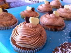 Maijo's Sweetest: Cupcakes de kinder bueno...buenísimo!