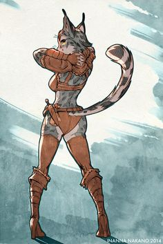 Skyrim - Cat Butt! by inanna-nakano.deviantart.com on @deviantART