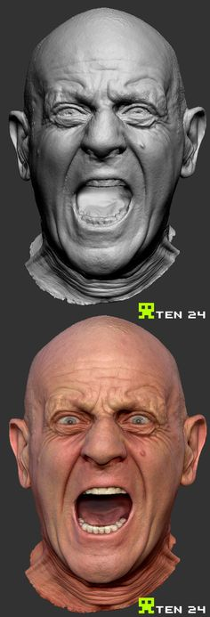 Drakensang 3d Scans by Chris Rawlinson, via Behance