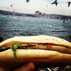Fish & Bread & Bosphorus