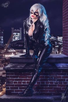 Black Cat from Marvel  Cosplayer: Heather Ashe Photographer: David Love Photography