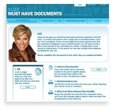 Suze orman 4 Must have documents - set up your own living revocable trust, will