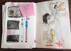 What to put in a sketchbook — Medium