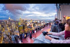 NYC. The Top of the Rock south bound | Flickr RBuhdu