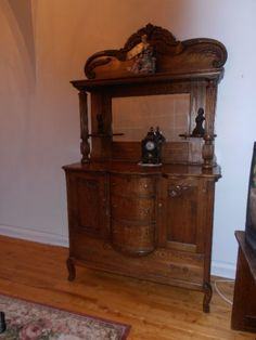 Fabulous Sideboard Antique Buffets Vaisseliers Ville De Montral Kijiji With Set Cuisine