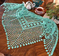 Love is a Rose award winning shawl pattern for purchase from Ravelry.com