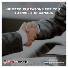 Canada's Finance and Accounting Services sector are the second largest in the world. To know more, visit www.getbusiness.ca