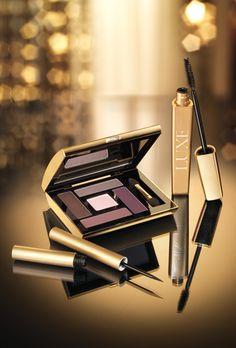 AVON Luxe - Delineador Líquido, Sombras para Olhos e Máscara luxuosos