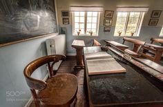 An Oldschool Classroom by retrocloud
