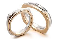 Diamond Wedding Rings, Diamond Engagement Rings, Couple Ring Design, Ring Sketch, Skinny Rings, Modern Engagement Rings, Mom Jewelry, Wedding Band Sets, Couple Rings