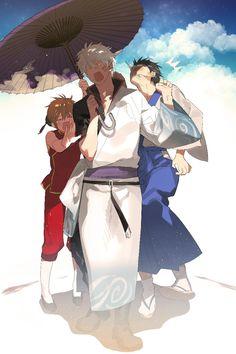 Image de gintama, kagura, and anime Manga Anime, Manga Art, Anime Art, Kamui Gintama, Samurai, Gintama Wallpaper, Manhwa, Gekkan Shoujo, Okikagu