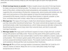 Moringa Benefits Moringa Benefits, Herbal Tea Benefits, Seven Pounds, Moringa Leaves, Herbalism, Herbal Medicine