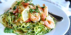 Cilantro-Lime Shrimp Pasta | Food Recipes