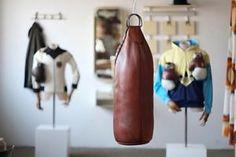 Der Boxer, Punching Bag, Vintage, Design, Vintage Comics