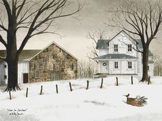 Home For Christmas by artist Billy Jacobs