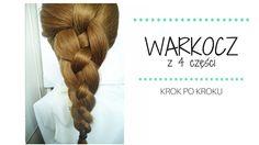 Warkocz z czterech części krok po kroku Image #warkocz #braid #tutorial