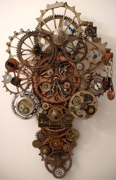 Steampunk Clock by Erin Keck