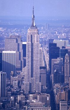 Empire State Building - New York City - Visited and went to the top.