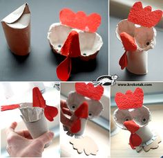 Двуместни Великденски поставки за яйца