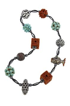 """""""Life is full of positive things...The positive ones glow most brightly of all."""" Valerie Hector, brilliant beadwork, Smithsonian Craft2Wear, Oct 1-3, 2015, Washington, DC. http://swc.si.edu/craft2wear Hector"""