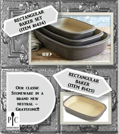 New Stoneware Tiny. Pampered Chef Party, Pampered Chef Recipes, Pampered Chef Stoneware, Main Dishes, Side Dishes, Brownie Pan, Spring 2016, Oven, Neutral