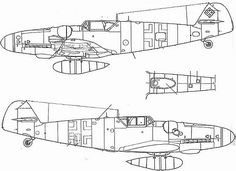 (For Aero Modelers) Messerschmitt Bf 109 G8 details (in english and japanese) 28