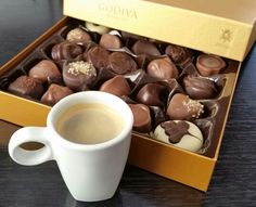 Max satisfaction - delicious chocolate and coffee