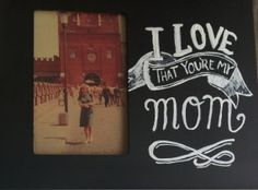FREE MOTHER'S DAY Gift I Love That You're My Mom by AnnaVArt, $9.00