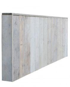 hoofdbord bed steigerhout - Google zoeken