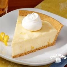Lemon Icebox Pie from Eagle Brand®...lets see how it stands up to Jim n Nicks ;-)