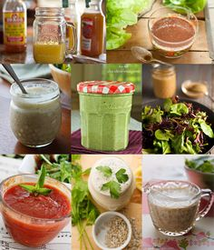 Vegan Oil-Free Salad Dressings