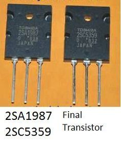 high power amplifier circuit diagram final transistor using transistor and power amplifier circuit is very strong power output. Simple Electronics, Power Electronics, Hobby Electronics, Electronic Circuit Design, Electronic Parts, Sony Led Tv, Power Supply Circuit, Computer Projects, Circuit Diagram