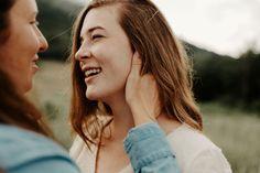 Blue Ridge Parkway, Blue Ridge Mountains, Mountain Engagement Photos, First Dates, Asheville, Photoshoot, Couple Photos, Couples, Wedding