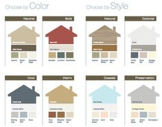 Modern Exterior Paint Colors For Houses | Exterior trim, Brown ...