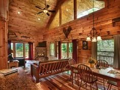 Southern Comfort   Bryson City Cabin Rentals Beautiful Windows Of Southern  Comfort Cabin In Bryson City,NC. Cabin Boasts Gorgeous Mountain Views,u2026
