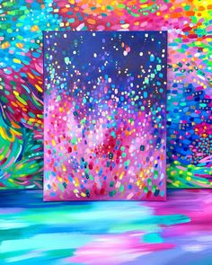 "Excellent ""abstract art paintings tutorial"" info is readily available on our website. Take a look and you will not be sorry you did. Art Inspo, Painting Inspiration, Rainbow Painting, Rainbow Art, Diy Canvas Art, Abstract Canvas Art, Acrylic Canvas, Canvas Canvas, Abstract Oil"