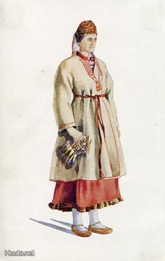 Orthodox Karelian woman from Sakkola.