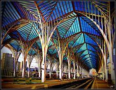 Carlos Rodrigues  Oriente Station, Lisbon,  Estremadura, Portugal     http://portugalmelhordestino.pt/fotos_concurso/f24b2f51500e53dc7666ab283d4804e7.jpg