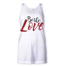 """""""Be The Love"""" Inspired Large Print Sublimation Vest"""