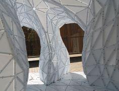 fabric DIGITALFABRICATION | trought tube digital fabrication motion lisa iwamoto y craig scott 2 ...
