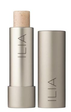 ilia's natural lip exfoliator made with volcanic stone powder #beauty