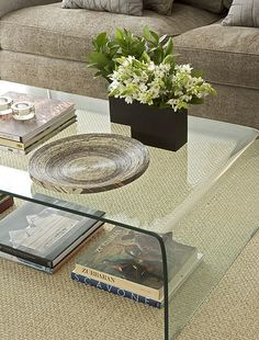 classic glass coffee table - classic design available in bespoke