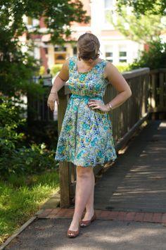 dart less summer dress butterick 3356