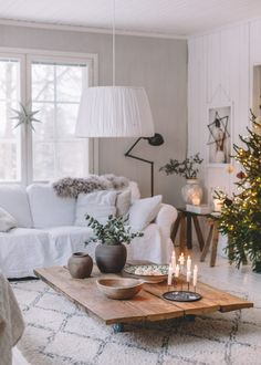 joulu arkistot - Page 3 of 117 - Uusi Kuu Inside A House, Scandinavian Living, Rustic Interiors, Home And Living, Interior Inspiration, Decorating Your Home, Decoration, Living Room Decor, Cool Ideas