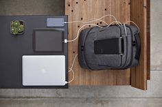 World's Smartest Backpack Charge Your Gear On-the-Go with the AMPL SmartBag