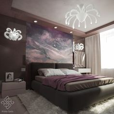 Decor, Home, Bed, Furniture, House